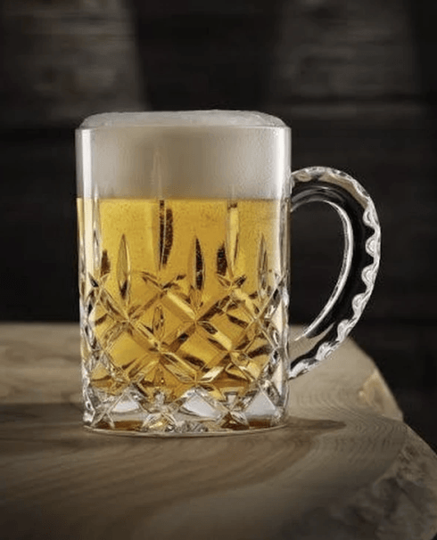 $25.00 Crystal Beer Stein