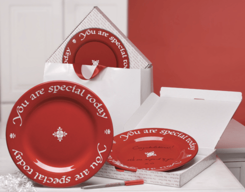 $40.00 You Are Special Today Plate