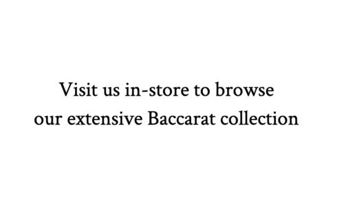 Baccarat Crystal starting at $95.00