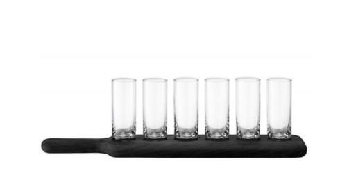 $65.00 Black Paddle Vodka Set