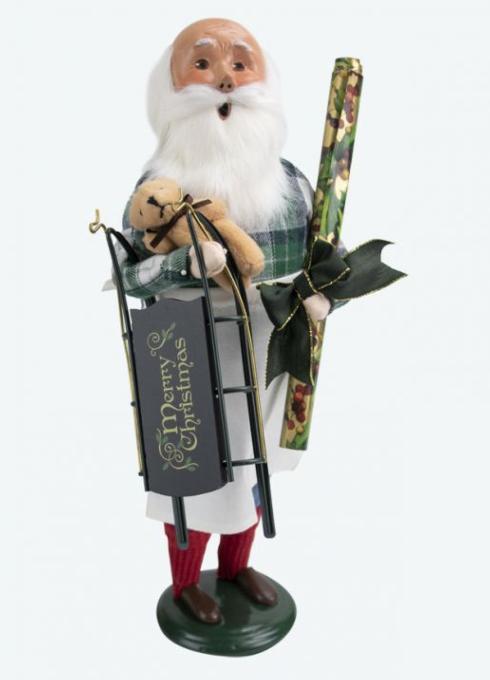 $80.00 Gift Wrap Santa Caroler