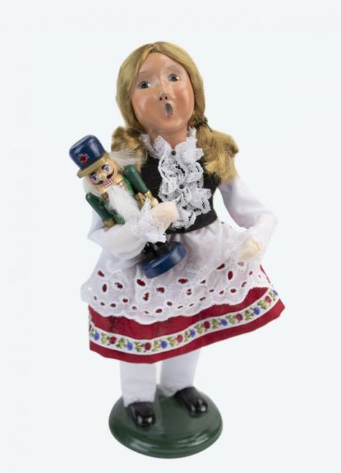 $77.00 Nutcracker Girl Caroler