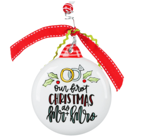$17.99 Our 1st Christmas Puff Ornament