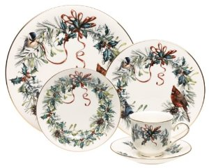 Lenox  Winter Greetings Salad Plate $32.00