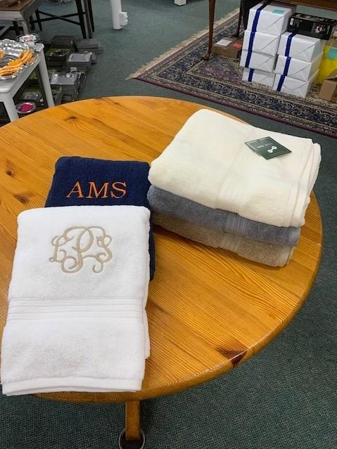 Provence Exclusives  Towels Terry Cloth Bath Towel INCLUDING MONOGRAM $22.00