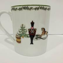 Bernardaud  Grenadiers Mug $54.00