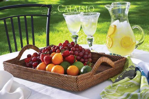 Calaisio   Rectangle Tray with Handles $90.00