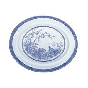 "Blue Quail 12"" Platter"