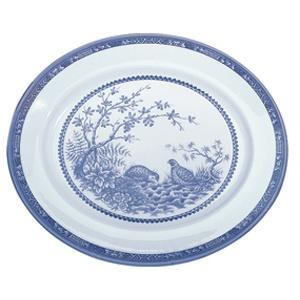 "$150.00 Blue Quail 14"" Platter"
