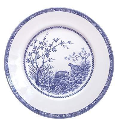 $32.50 Blue Quail Dinner Plate