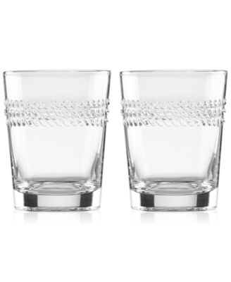 Kate Spade  Wickford Wickford Double Old Fashion Glasses (Set of 2) $30.00