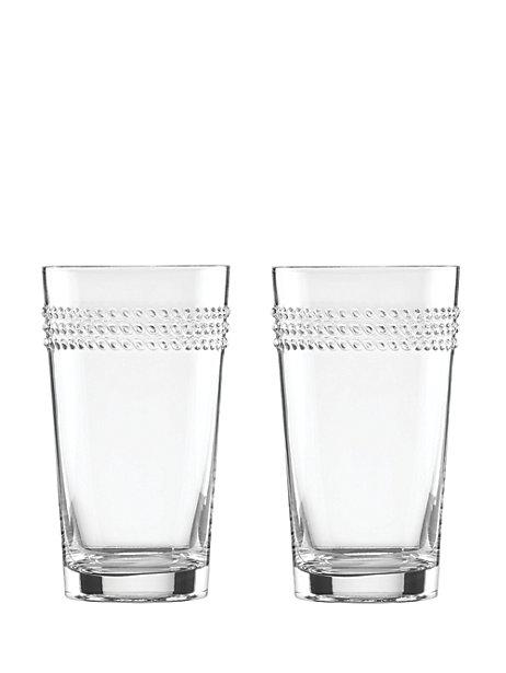 Kate Spade  Wickford Wickford HiBall Glasses (Set of 2) $30.00