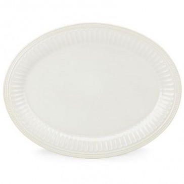 Lenox  French Perle Groove - WHITE 16