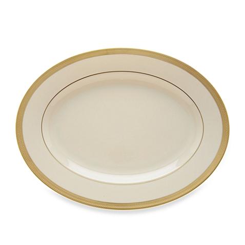"""Lowell 16"""" Oval Platter"""