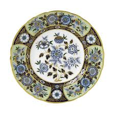 Royal Crown Derby  Midori Meadow Accent Plate $225.00
