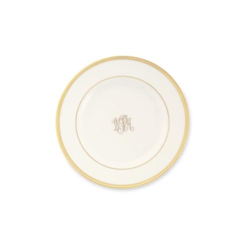 Pickard Monogram   Signature Monogrammed Bread & Butter Plate $48.00