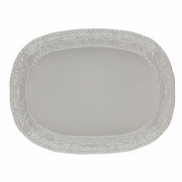 Skyros Designs  Historia Greystone Large Oval Platter $105.00