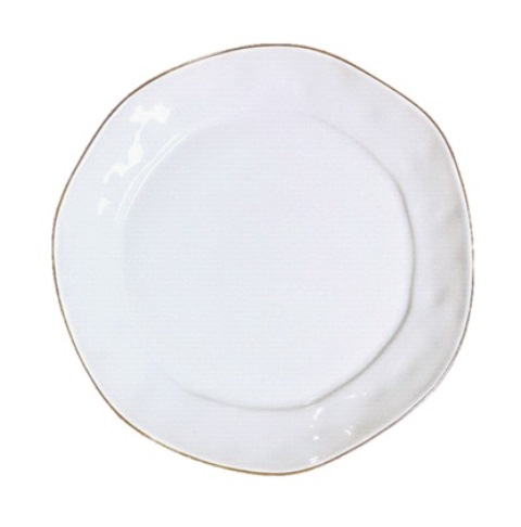 Skyros Designs  Cantaria Cantaria White Dinner Plate $39.00