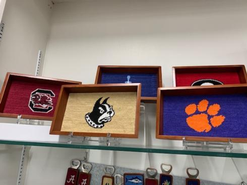 Smathers and Branson   Clemson Valet Tray $75.00