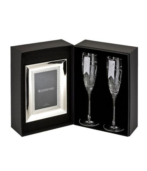 Provence Exclusives  Waterford  Wedding Vows Flutes Pair with Frame $195.00