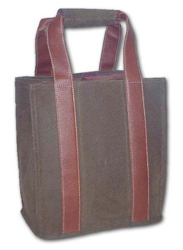 Brown Party to Go Tote