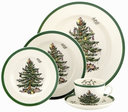 Spode  Christmas Tree 5 Piece Place Setting $157.00