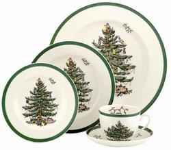 Spode  Christmas Tree Salad Plate $27.00
