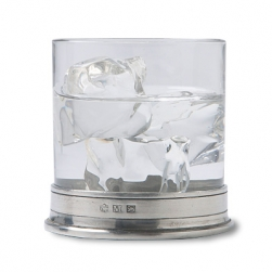 Match  Bar Items Pewter Double Old Fashioned Glass $70.00