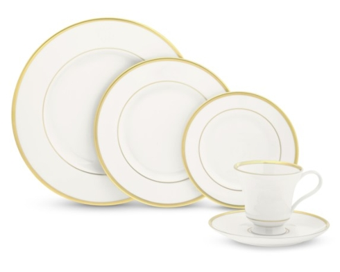$39.00 Signature Gold Salad Plate No Mono