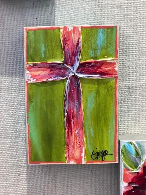 $60.00 Ginger Leigh Designs Love Cross