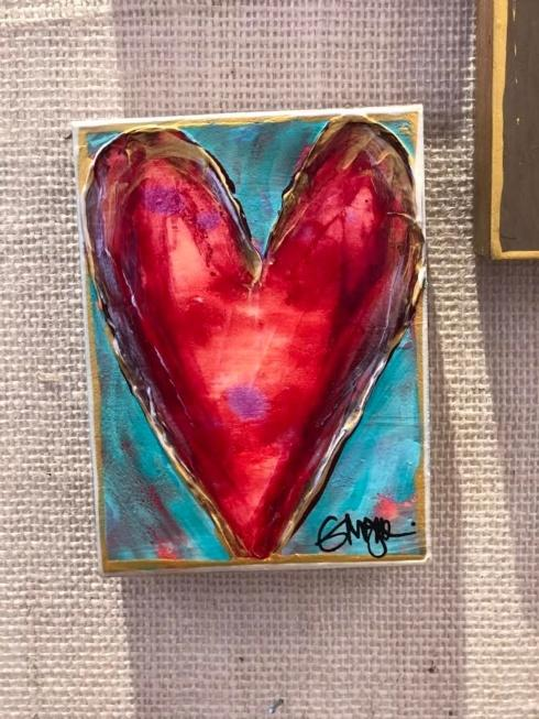 $52.00 Ginger Leigh Designs Heart