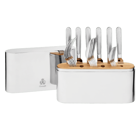 $780.00 24 Stainless Steel 24pc Set