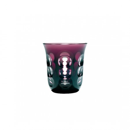 Christofle  Kawali Purple Crystal Water Glass $160.00