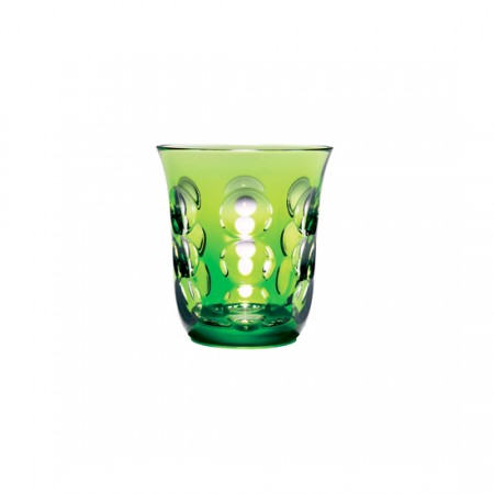 Christofle  Kawali Lime Crystal Water Glass $160.00