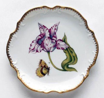 PS The Letter Exclusives   Anna Weatherly Old Master Tulip B&B Plate $277.00