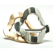 Tile Napkin Ring - Gold collection with 1 products