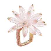 Flower Napkin Ring - Gold collection with 1 products