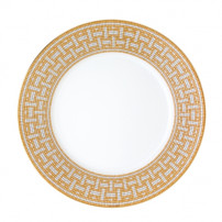 $250.00 MOSAIQUE AU 24 GOLD AMERICAN DINNER PLATE