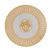 $180.00 MOSAIQUE AU 24 GOLD DESSERT PLATE