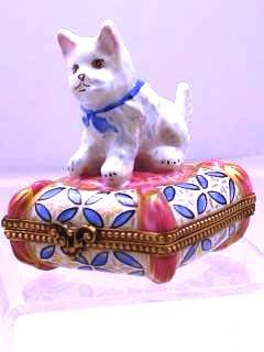 Chamart Limoges Westie On Pillow collection with 1 products