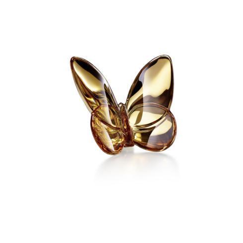 Baccarat  Papillon Lucky Butterflies Gold Butterfly $175.00