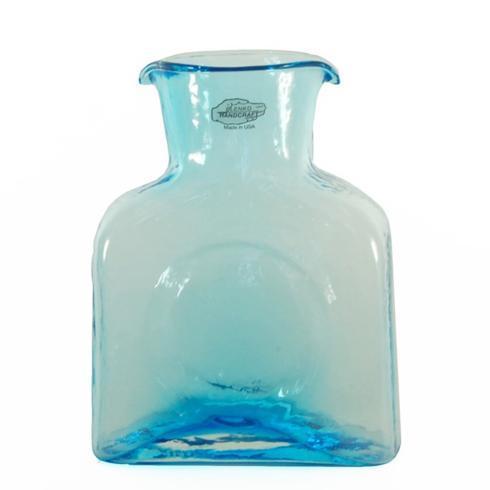 Blenko Glass Co   384M Mini Water Bottle Ice Blue $53.00