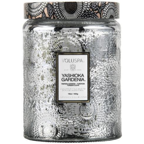 Voluspa Large Yashioka Gardenia Candle collection with 1 products