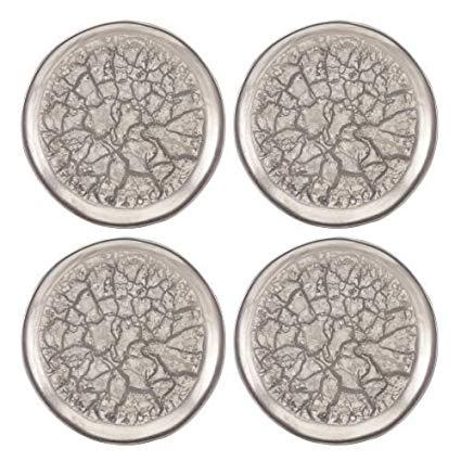 $100.00 Templo Set of 4 Canape Plates