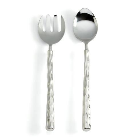 $75.00 Truro Platinum Salad Servers
