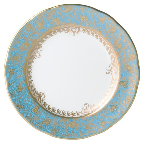 Bernardaud  Eden Turquoise  Eden Turquoise Bread and Butter Plate $130.00