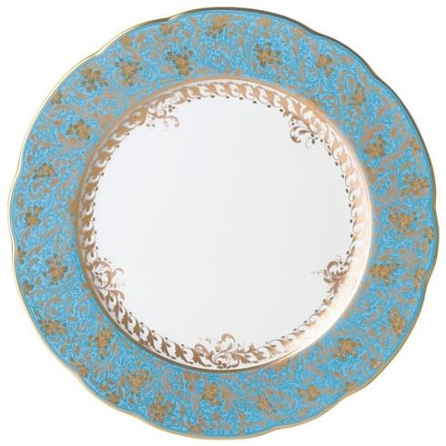 Bernardaud  Eden Turquoise  Eden Turquoise Dinner Plate $232.00