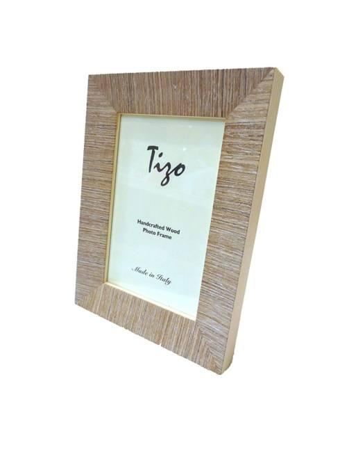 $42.00 Tizo Taupe Handcrafted Wood Frame