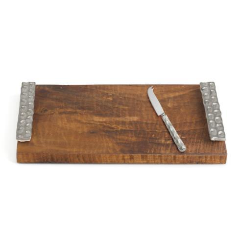 $150.00 Truro Platinum Wood Cheese Tray