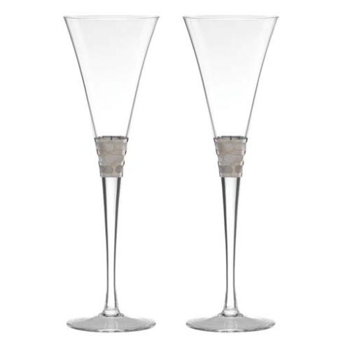 $125.00 Champagne Flute Set of 2